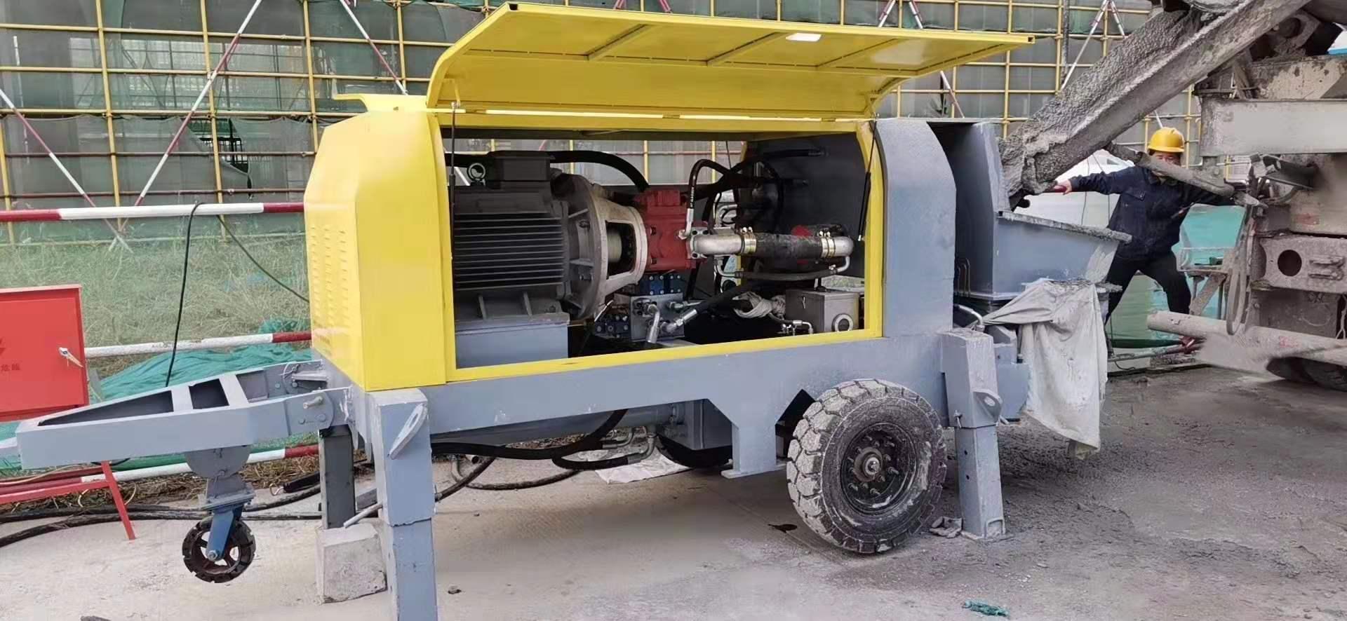 大型细石混凝土输送泵 大骨料二次构造柱泵-厂家供应商
