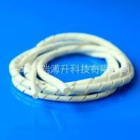 UL阻燃硅胶缠绕套管 螺旋管  广东省白色硅胶缠绕套管 螺旋管 广东省缠绕硅橡胶套管 螺旋管