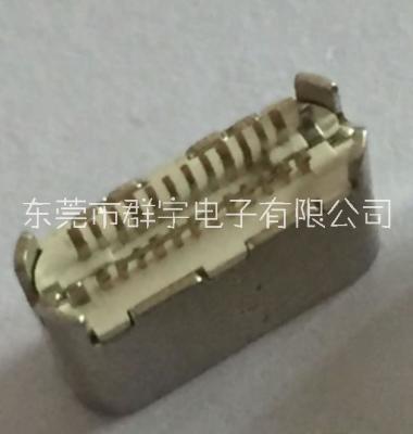 Type-c母座24P夹板图片/Type-c母座24P夹板样板图 (4)