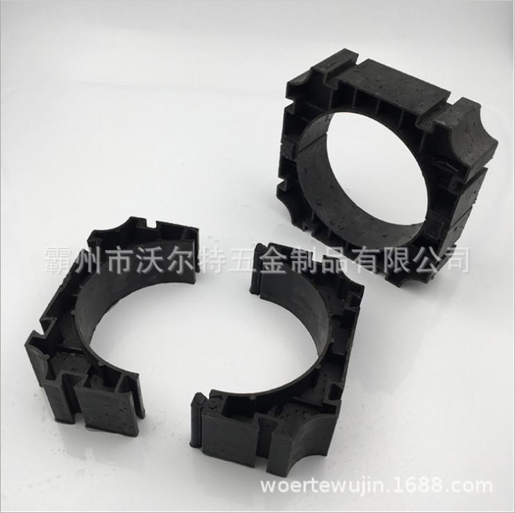 pvc电力管材管枕 110mm PVC-C电力管支撑 167/175/180塑料管管枕 电力管管枕