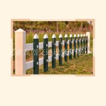 河南厂家专业生产pvc公园庭院花坛草坪护栏 草石隔离带围栏图片