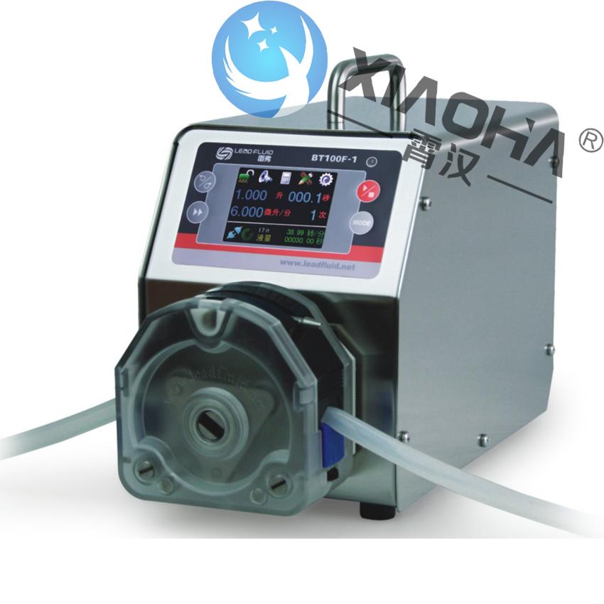 BT100F-1 分配智能型蠕动泵 KZ25泵头  具有密码锁定功能,防止误操作