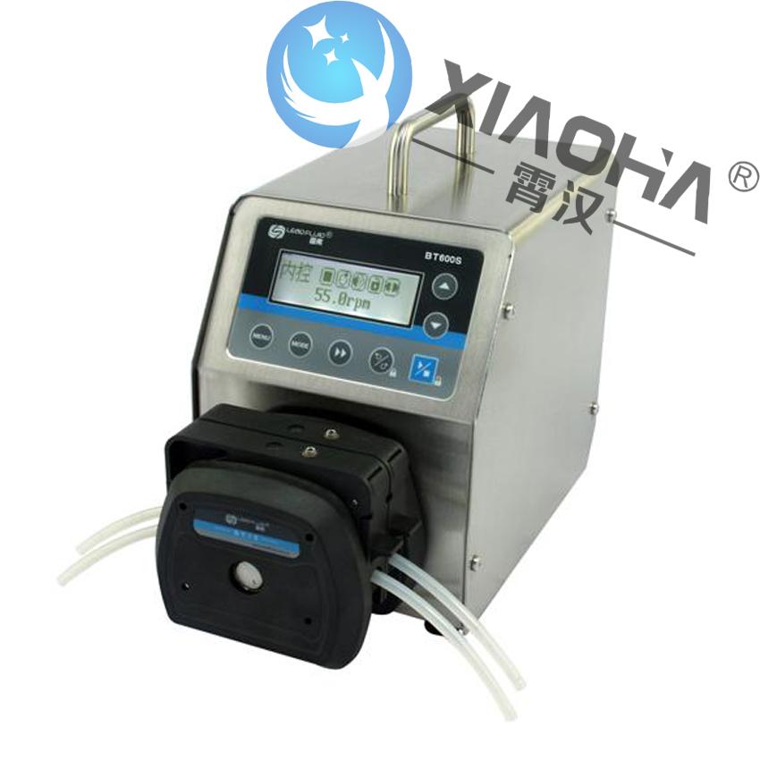 BT100S/DT泵头基本调速型蠕动泵 内部结构采用双层式隔离设计,电路板加喷三防漆工艺,达到防尘防潮效果