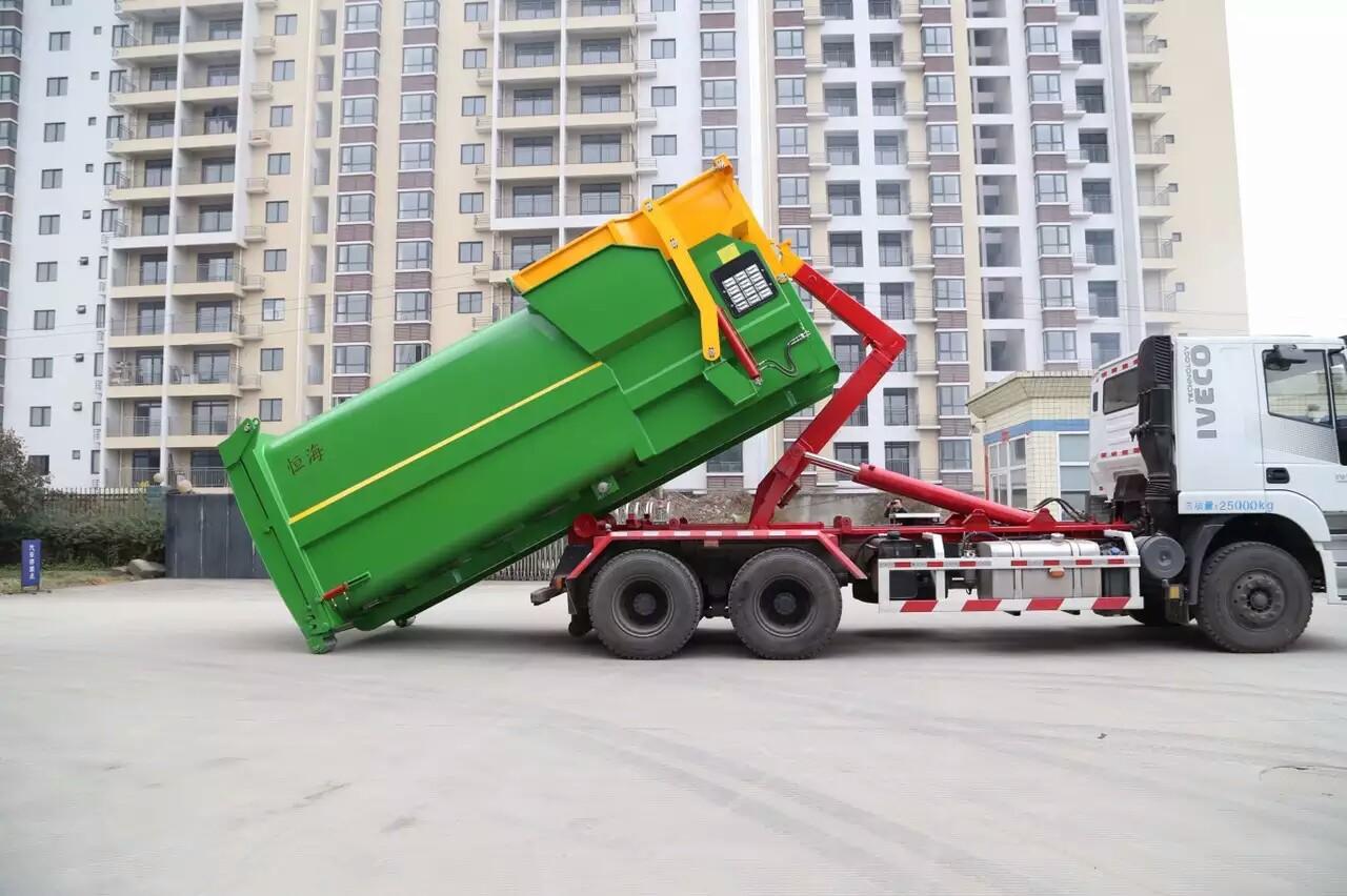 西安垃圾站专用钩臂车供应商批发价格【西安裕达环保科技有限公司】
