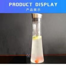 供应PC塑料耐高温大容量不锈钢盖扎壶酒吧KTV果汁壶调酒壶 佛山协锐塑料厂家批发图片
