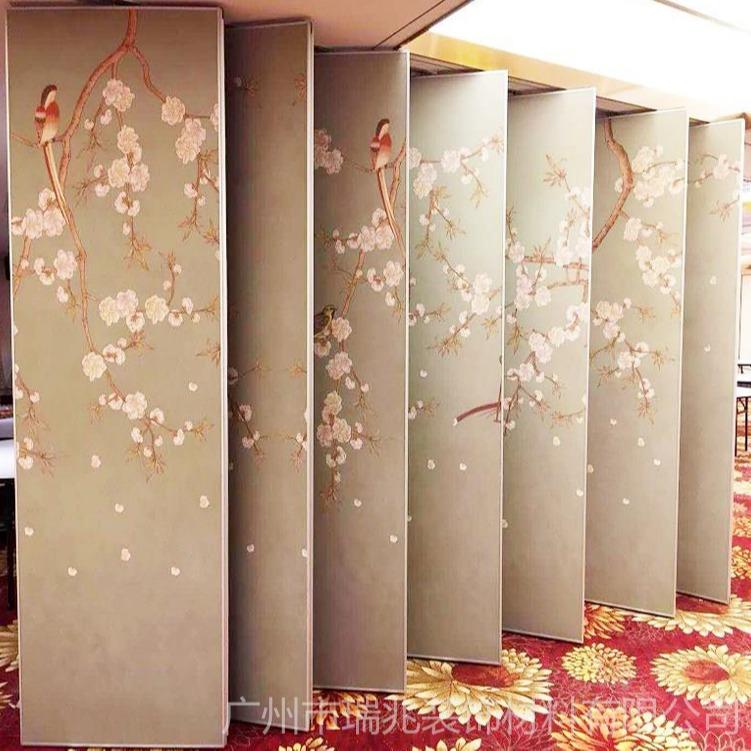 厂家供应 环保隔音装饰材料 定制折叠屏风广州直销