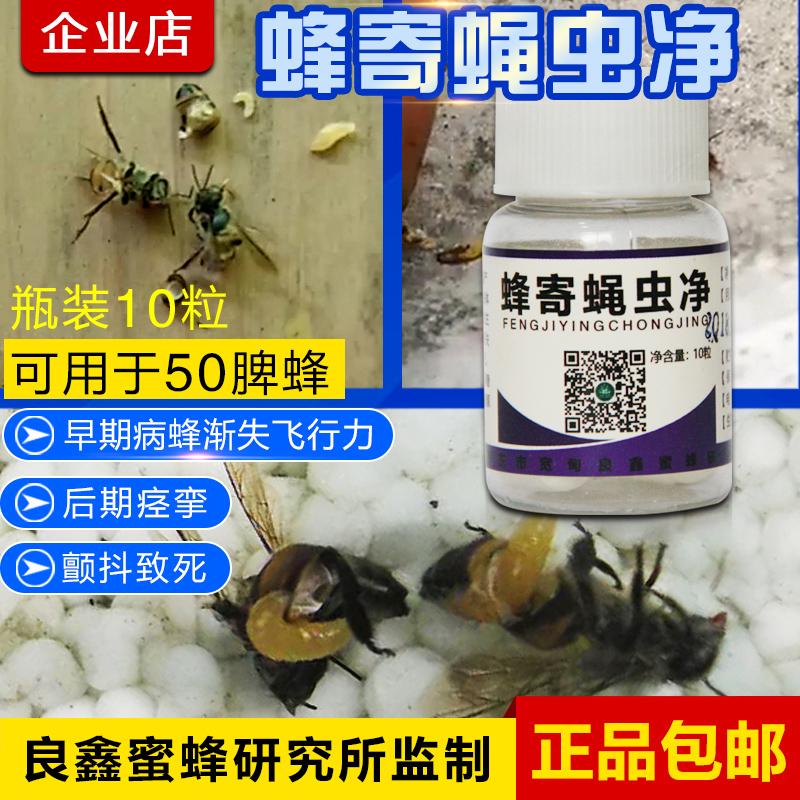 蜂寄蝇虫净解决因为寄生蝇蛆导致的蜜蜂爬蜂病麻痹病
