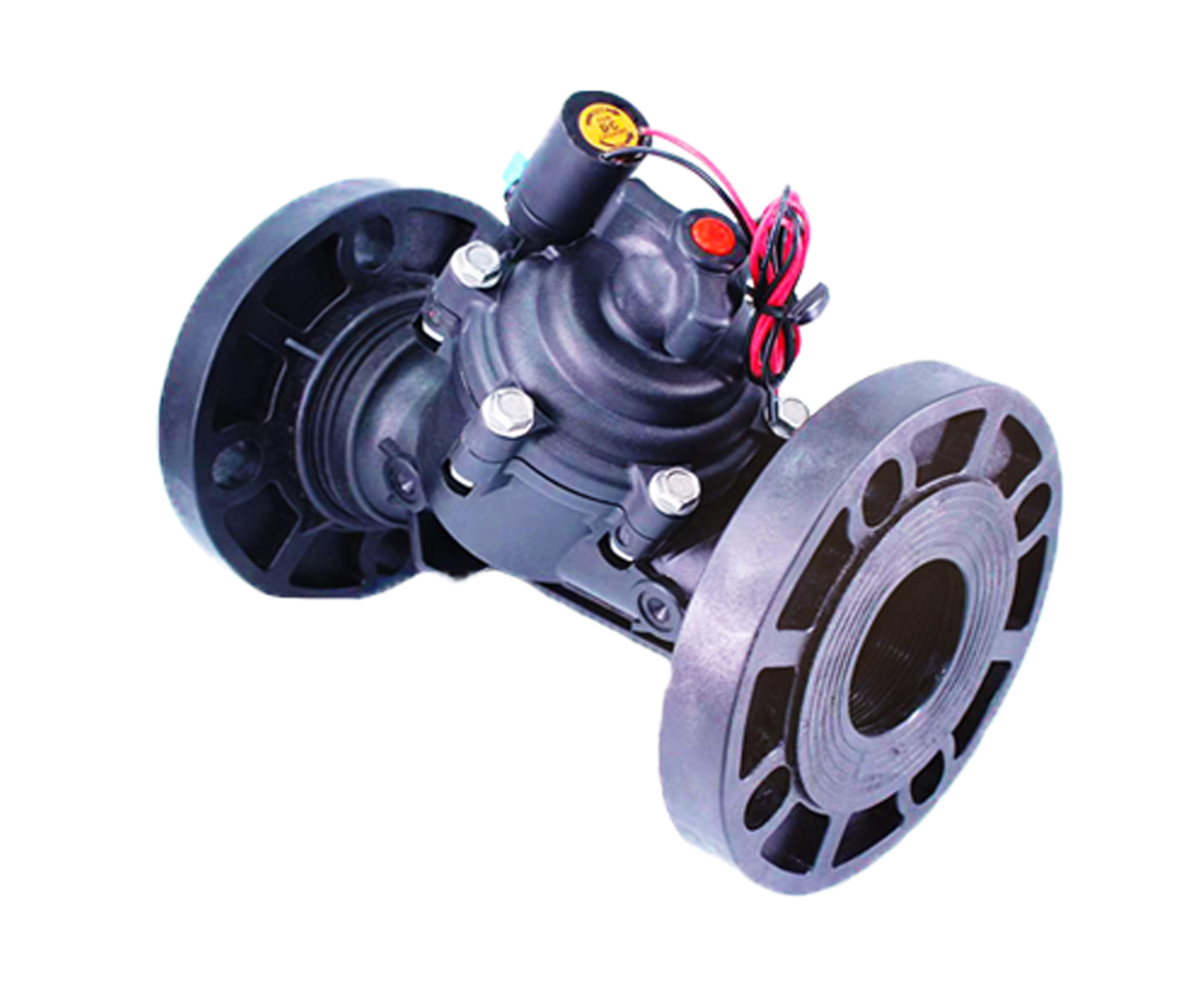 全通径高流量Y型自动灌溉控制阀 伯尔梅特款电磁阀 大流量灌溉阀
