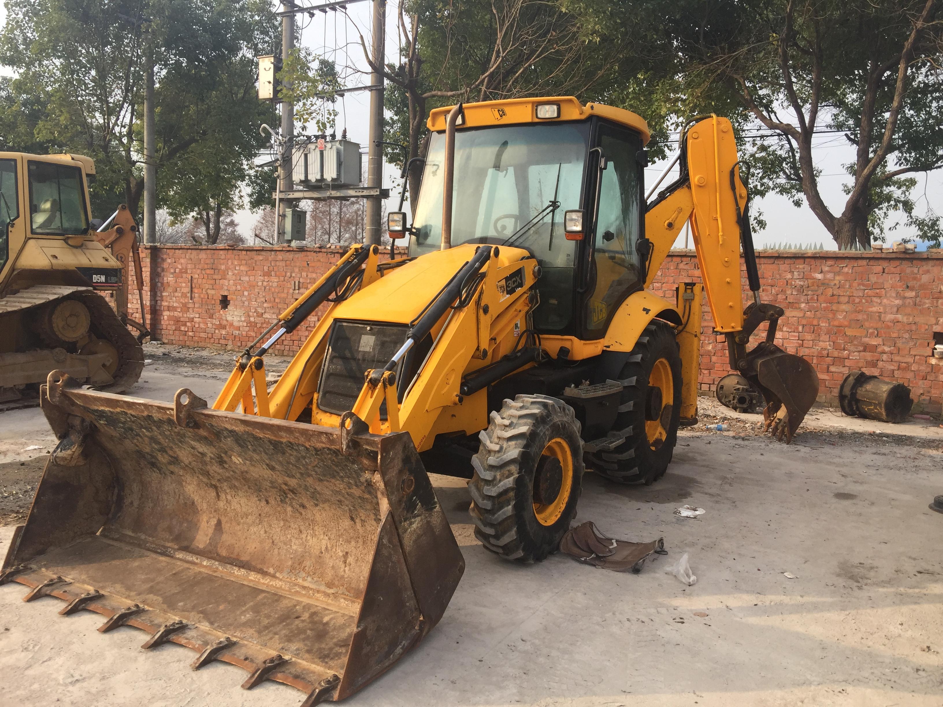 挖掘装载机 二手JCB3CX挖掘装载机 两头忙