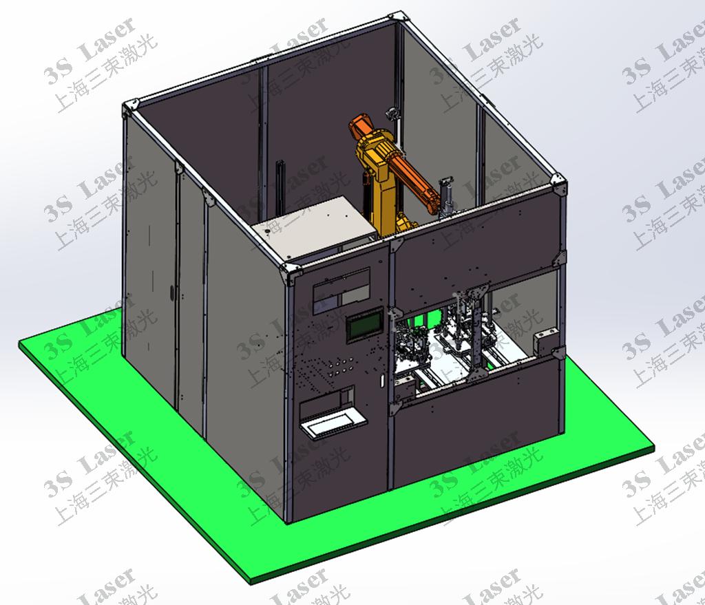 机械手塑料激光焊接机 焊接汽车尾灯、仪表盘