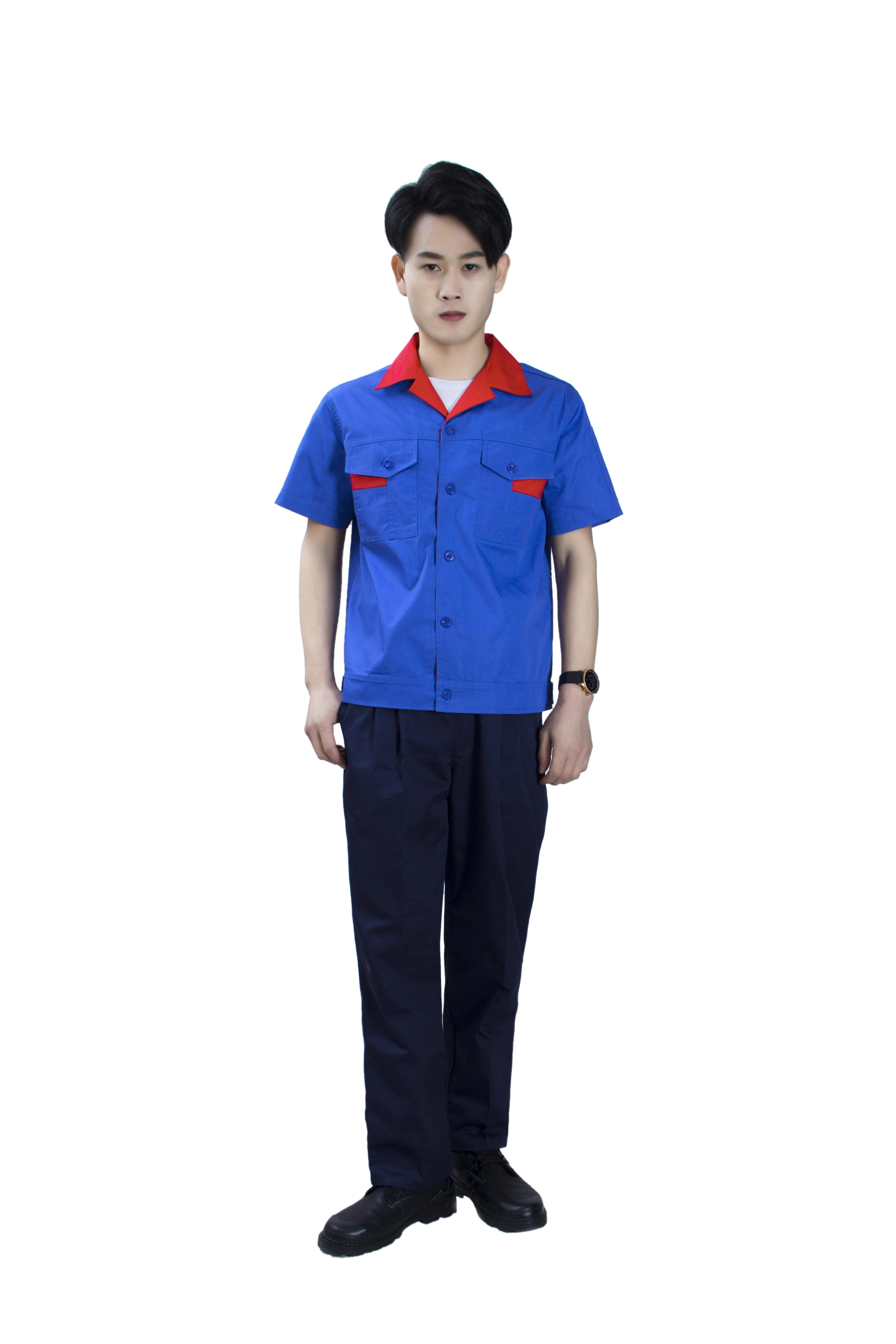 耐麿劳保服车间员工工衣订做龙岗工厂厂服订做|龙岗装修工作服|龙岗超市工衣制服