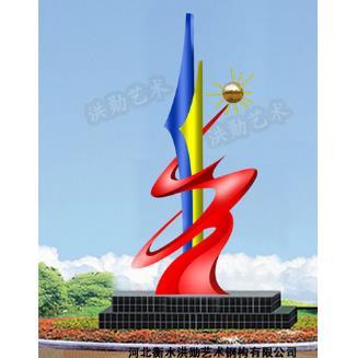 鹤岗不锈钢雕塑@白钢雕塑