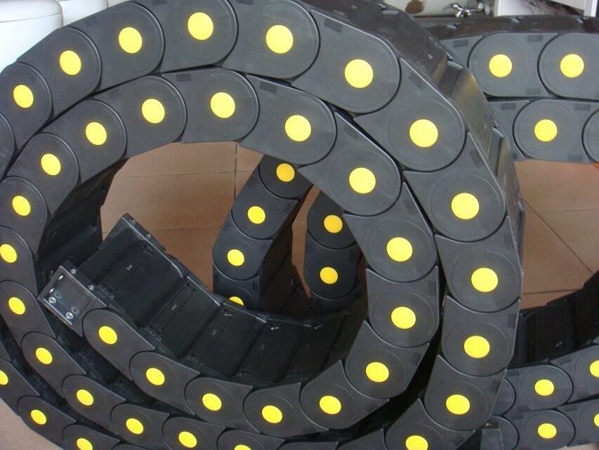 穿线塑料拖链 机床塑料拖链厂家直销 防震动塑料拖链 穿线塑料拖链厂家