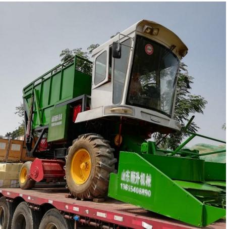 山东自动输送收割机厂家