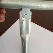大棚配件大棚圆管夹箍热镀锌大棚圆管卡子大棚配件生产厂家直销批发