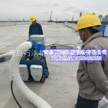 青岛万浩移动式 桥面 混凝土 浮浆清理抛丸机 铁板除锈抛丸机批发