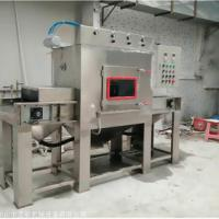 西安湿式喷砂机 不锈钢表面处理湿式自动喷砂机