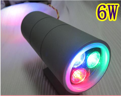 厂家直销喷泉灯 广东LED双头壁灯厂家