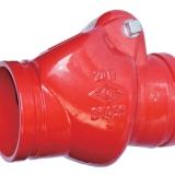 消防沟槽止回阀 H84XS 广东梅州消防阀门批发 止回阀优质供应商