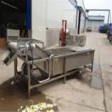 葉類蔬菜高壓噴淋清洗機廠家 水果氣泡清洗機 循環用水