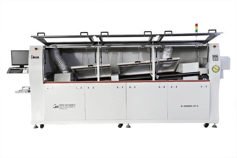 晋力达全电脑控制G-350DS-LF-C节能波峰焊锡渣氧化少