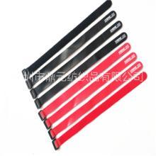 深圳厂家批发尼龙粘扣带,电线丝印扎带,数据捆绑带  丝印魔术贴批发