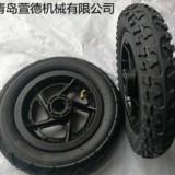 厂家直销10寸膝盖车充气轮子 10*2充气轮子 平衡车轮子