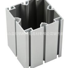 供应郑州80方柱 8分八槽方柱 特装展位搭建铝型材图片
