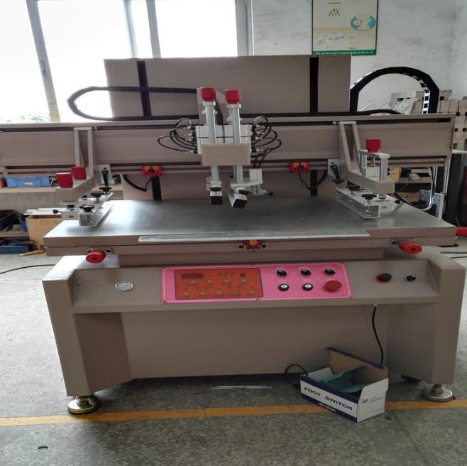 全自动刮胶机织带丝印机  广东电动丝印机多少钱 垂直丝印机UV机