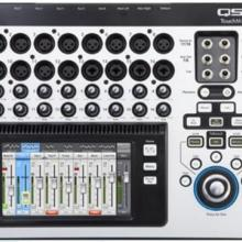 美国调音台QSC TouchMix-8 触摸屏调音台便携式现场演出调音台批发