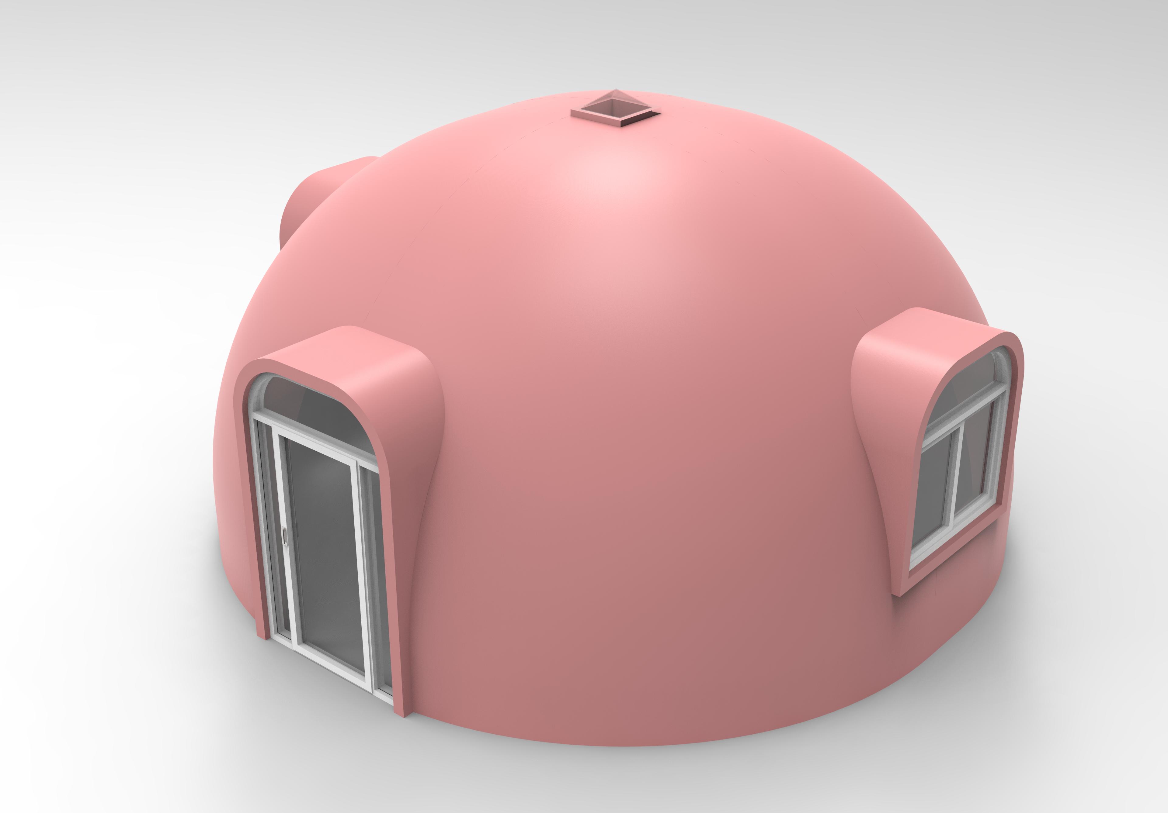 民宿村庄新型模块自建房 石墨烯eps新型建材3H快速拼装自建房 抗震7级抗风13级