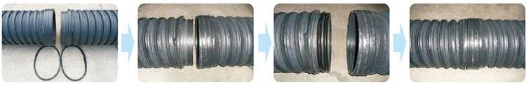 PE内肋增强缧旋波纹管哪里便宜 PE内肋增强缧旋波纹管厂家