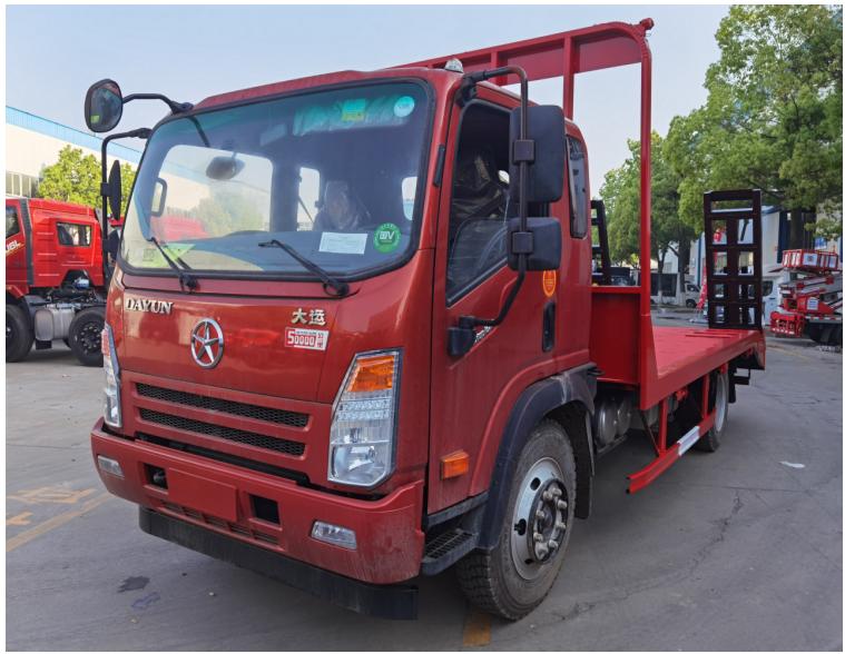 厂家供应大运平板车-4米大运平板车-12米-厂家直销-平板车价格