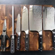 厨房刀具六件套 厨房刀具套装 厨房刀具 刀具套装 六件套厨房套装 不锈钢菜刀套装 刀具套装六件套