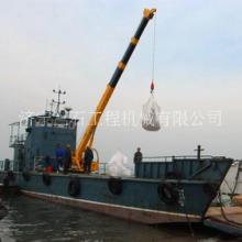 3吨船用小吊机全油缸出臂的3吨吊锚机可旋转固定式码头吊图片图片