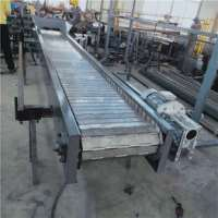 临朐铸造件链板输送机厂家-宁津卓远定做 图片|效果图