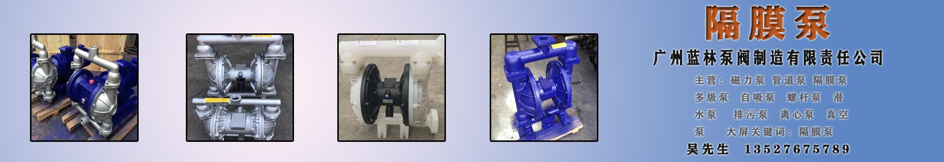 广州蓝林泵阀制造有限责任公司