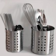 不銹鋼筷子筒 不繡鋼筷籠子桶 插快子捅家用創意裝勺子收納盒圖片