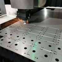 201 304 316L 321  2205  310S等不锈钢激光切割包料来料加工图片