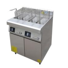 肯德鸡专用8KW单缸电磁油炸炉 德茹三相鸡排电炸锅厂家图片