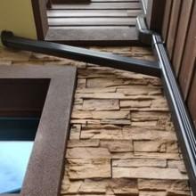 铝合金檐沟成品天沟雨水槽彩铝水管图片