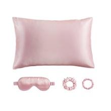 供應真絲套盒眼罩枕套發圈圖片